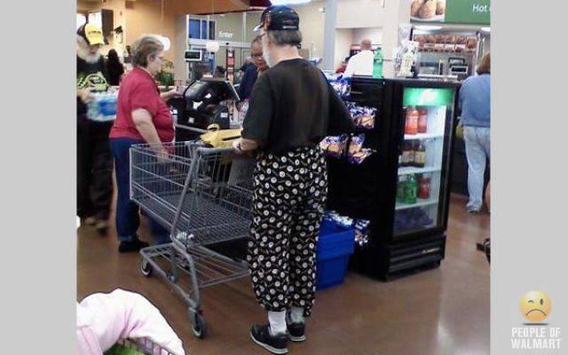 Najdziwniejsi klienci z WalMart #6 3