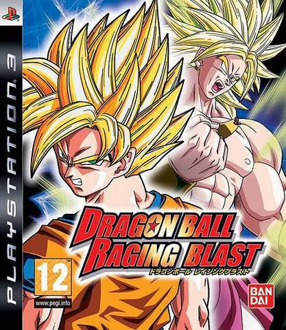 Dragon Ball : Ragin Blast [PS3][Pelea][Español]