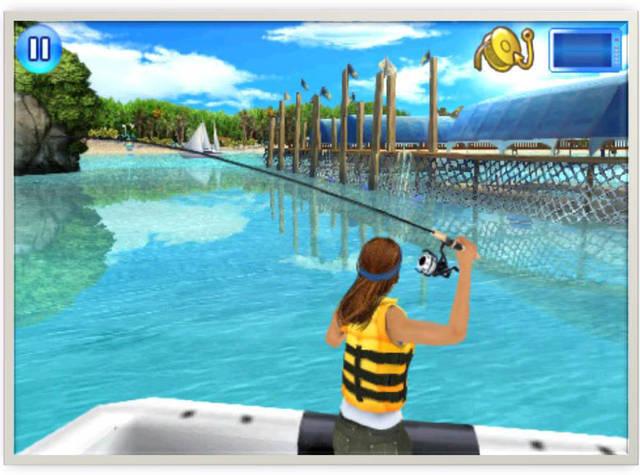 Свою новую игру fishing kings реалистичный