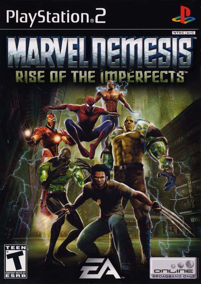Marvel Nemesis - Rise of the Imperfects NTSC PS2