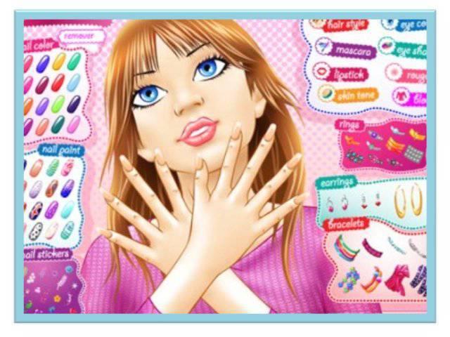Игры для девочек онлайн макияж
