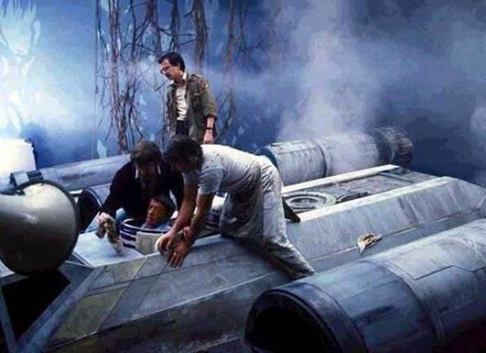 Za kulisami filmów: Gwiezdne Wojny 32