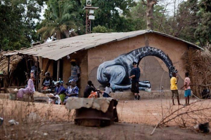 Street art: Afryka 4