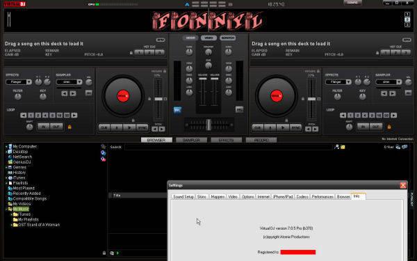 Atomix virtual dj 7 0 pro skins