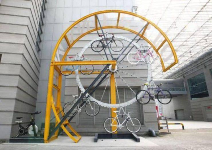Oryginalne stojaki rowerowe 6