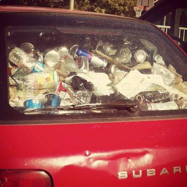 Czasami warto posprzątać w samochodzie 8