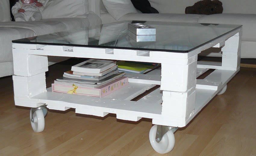 Como hacer una mesa con palets taringa - Ideas para reciclar unos palets ...