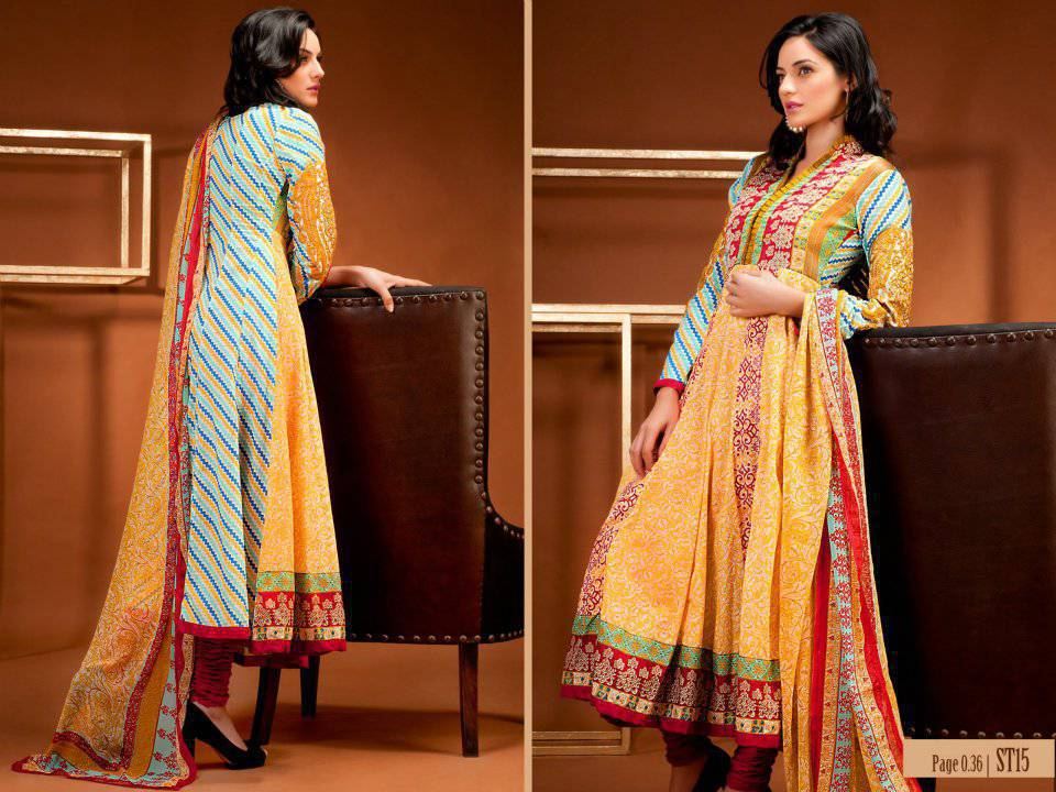 167974460aaa13875336eb6dab69cb80799312c6 - Rabea Designer Embroidered Eid Collection 2012 by Shariq Textile