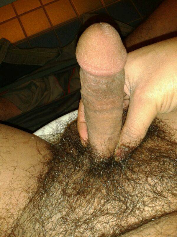 Nude shave and unshaved men