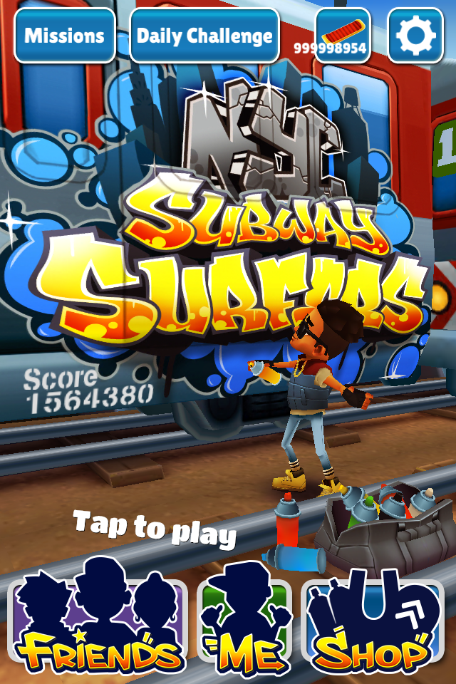 Hack) Subway Surfers 1.6.0 (IOS)