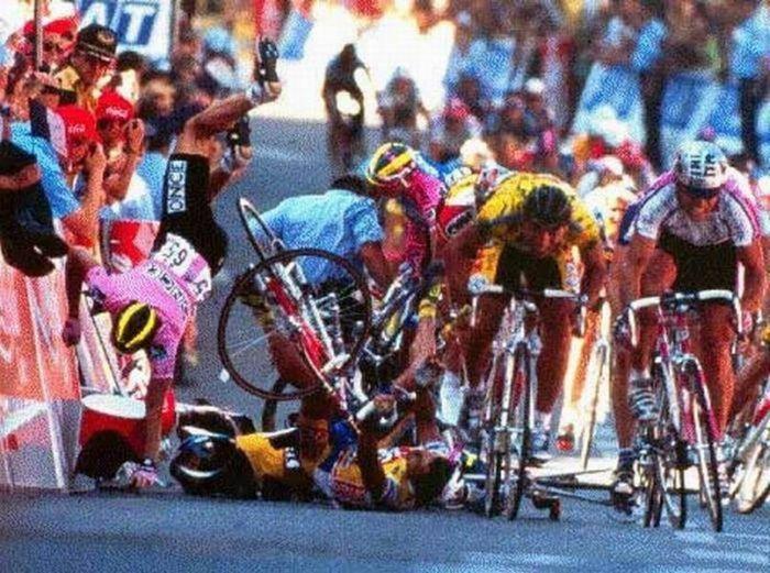 Wypadki na rowerach 17