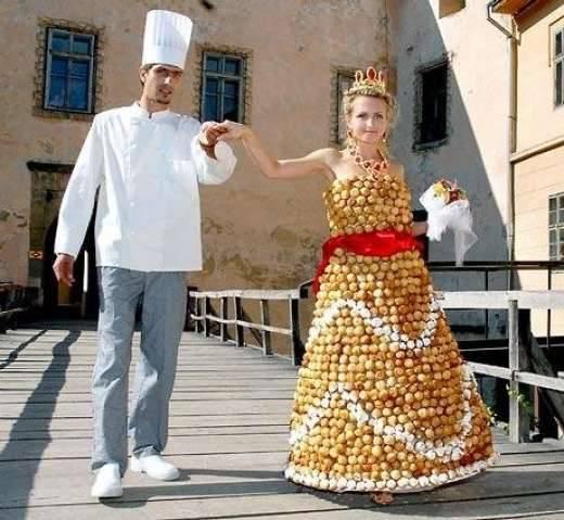 Nietypowe suknie ślubne 33