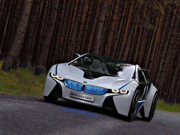 BMW Vision EfficientDynamics Concept 7