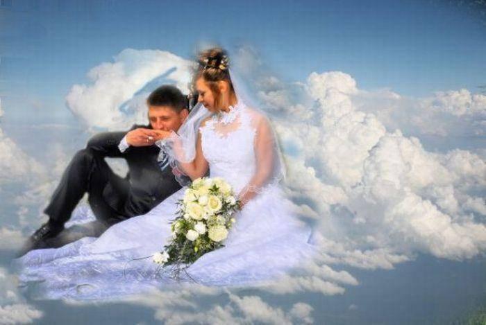 Najdziwniejsze zdjęcia ślubne #2 7