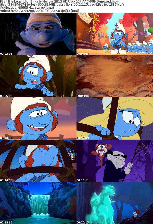 ���� �������� ������ ���� ��� ���� ���� The Legend of Smurfy Hollow