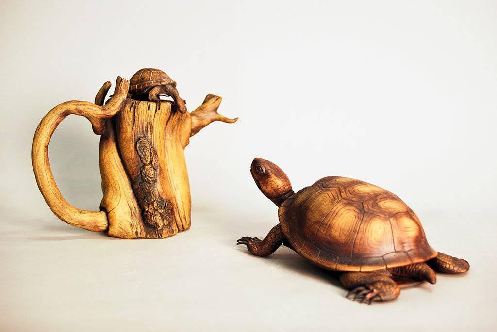 Niesamowite rzeźby z drewna 14