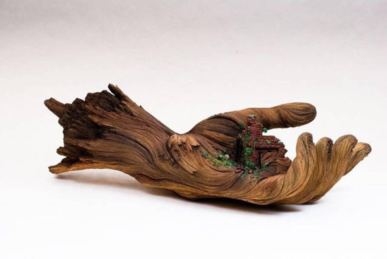 Niesamowite rzeźby z drewna 10