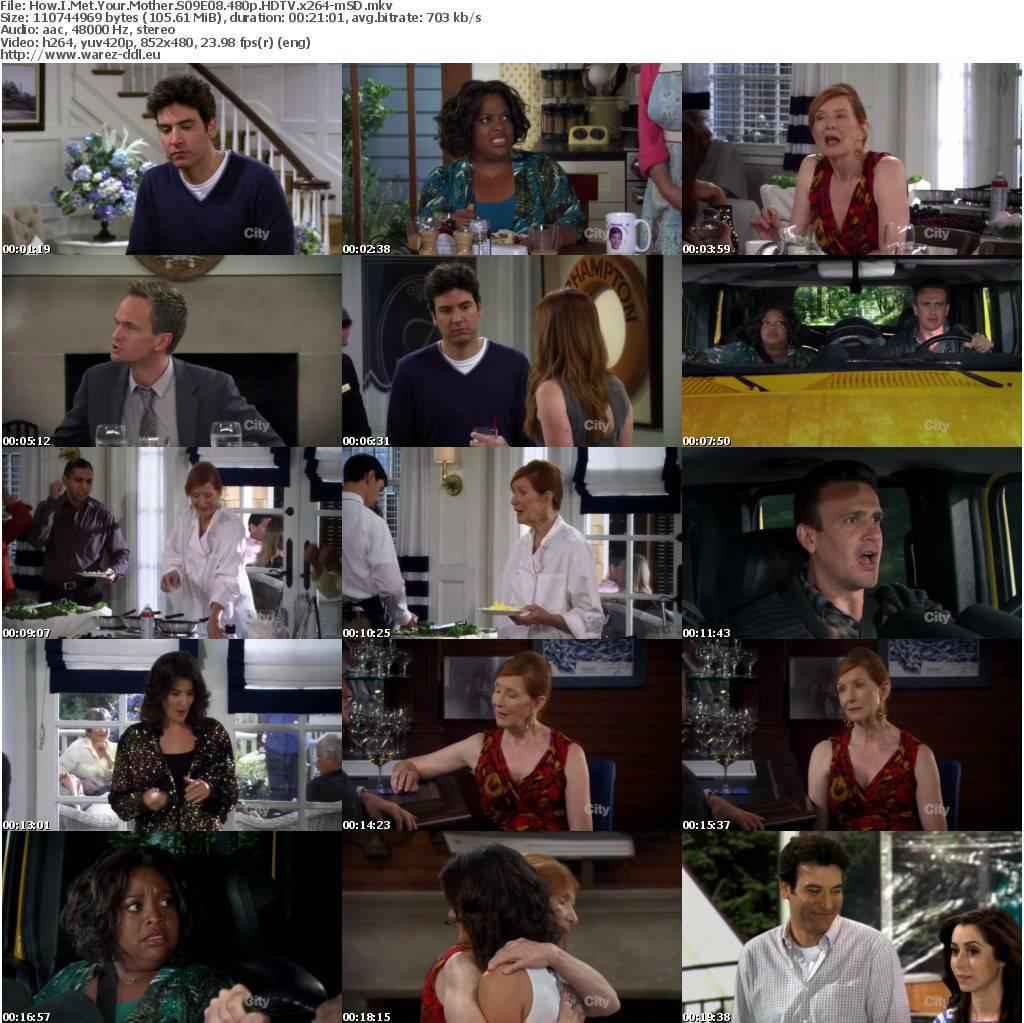 How I Met Your Mother S09E08 HDTV XviD hokedoncronics avi Warez DDL. i7nd H