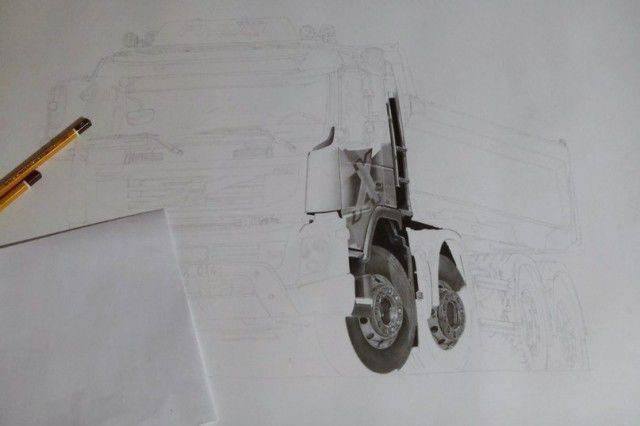 Świetne rysunki wykonane ołówkiem 1