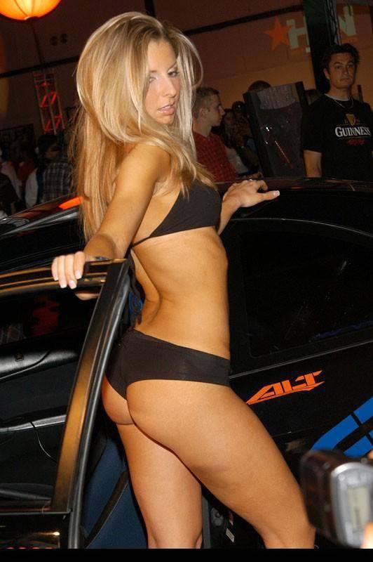 Dziewczyny z pokazów samochodowych #4 40
