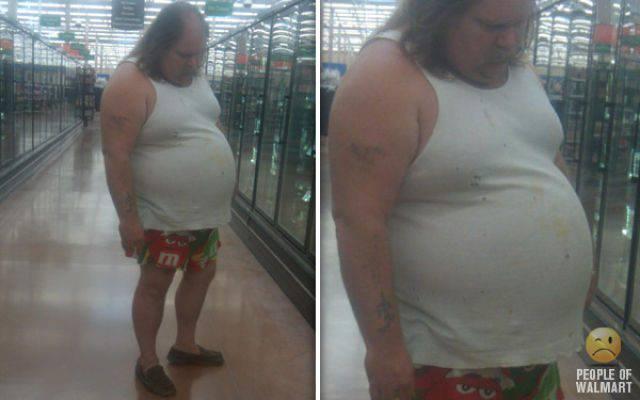 Najdziwniejsi klienci z WalMart #3 84
