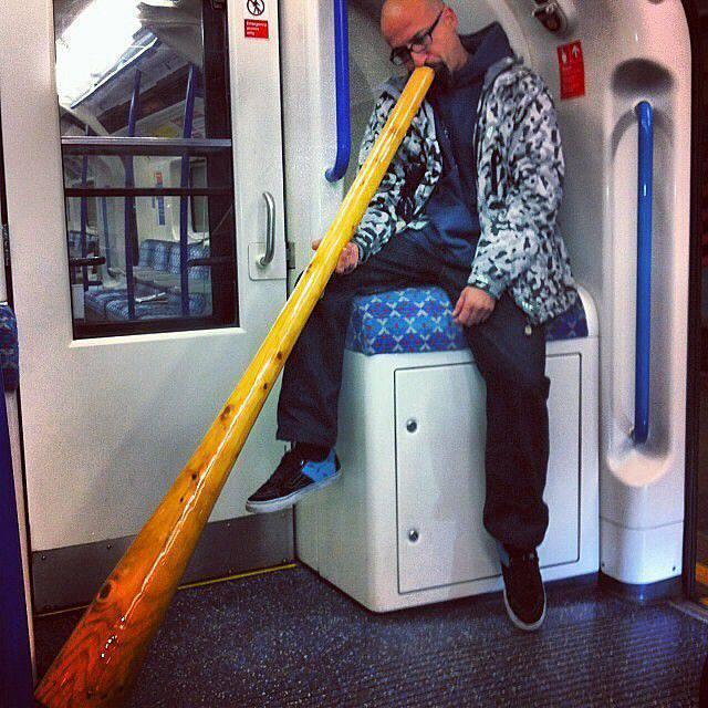 Najdziwniejsi pasażerowie metra 20