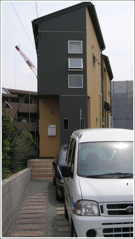 Wąskie budynki w Japonii 6