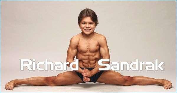 Richard Sandrak - mały Herkules ? 6