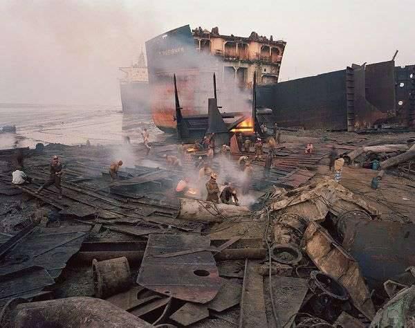 Złomowanie statków 1