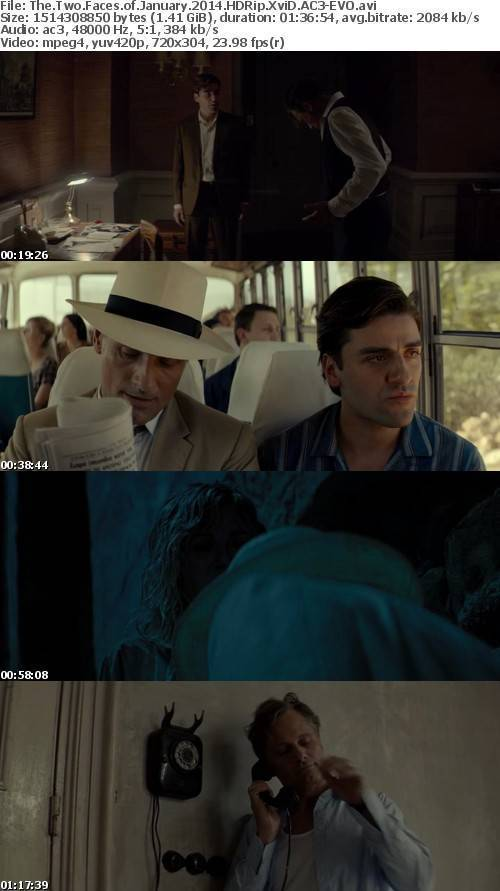 The Two Faces of January 2014 HDRip XviD AC3-EVO