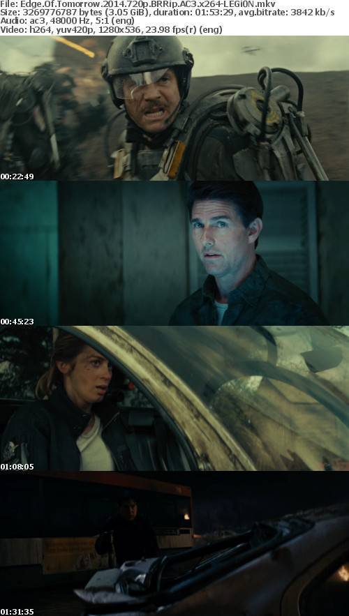 Edge Of Tomorrow 2014 720p BRRip AC3 x264-LEGi0N