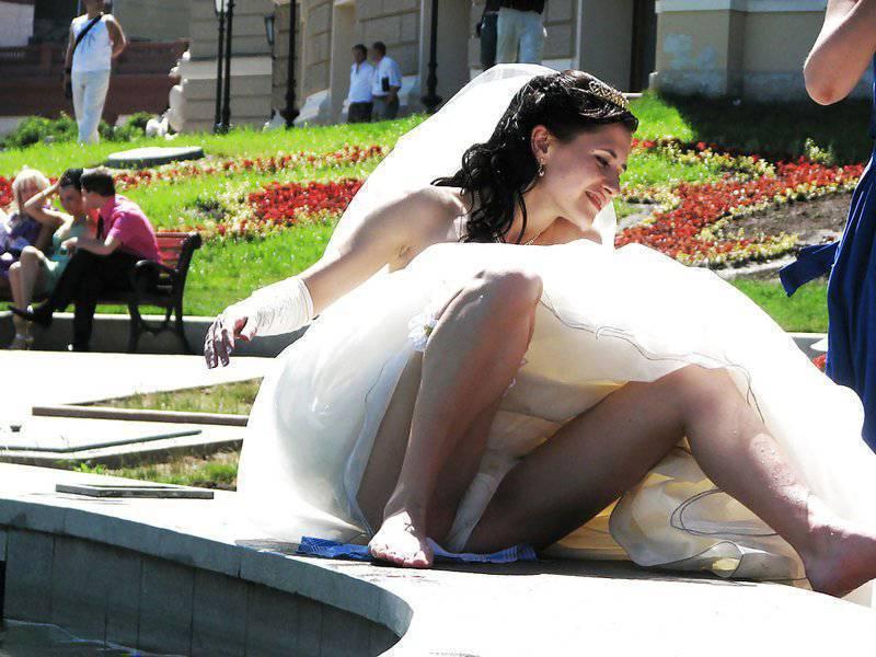 bride upskirt voyeur photo - xxx sex photos