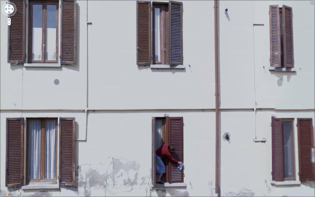 Nietypowe sceny z Google Street View #4 3