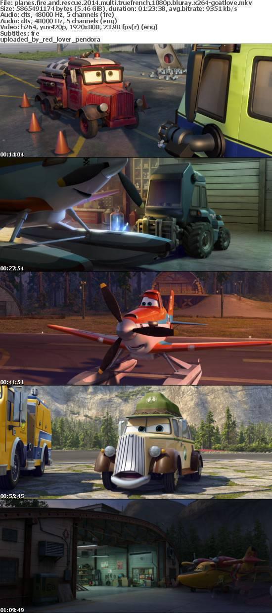 Planes Fire and Rescue 2014 MULTI TRUEFRENCH 1080p BluRay x264-Goatlove