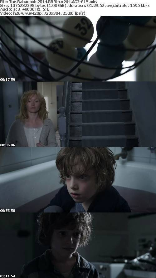 The Babadook 2014 BRRip x264 AC3-GLY