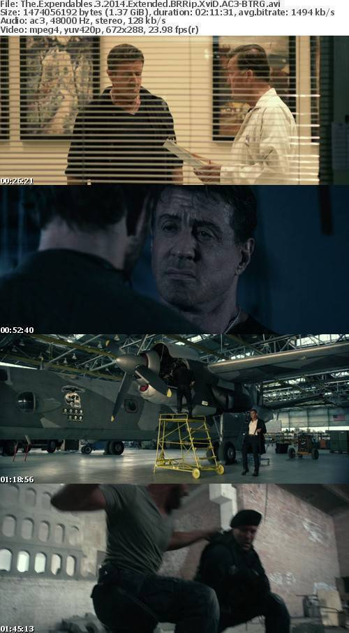 The Expendables 3 2014 BRRip XviD AC3 - BTRG