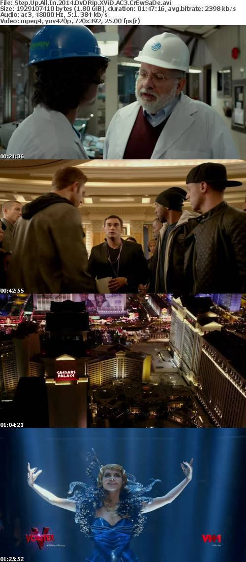 Step Up All In 2014 DvDRip XViD AC3 CrEwSaDe