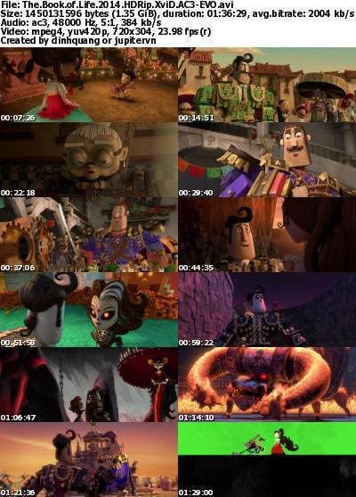 The Book of Life (2014) HDRip XviD AC3-EVO