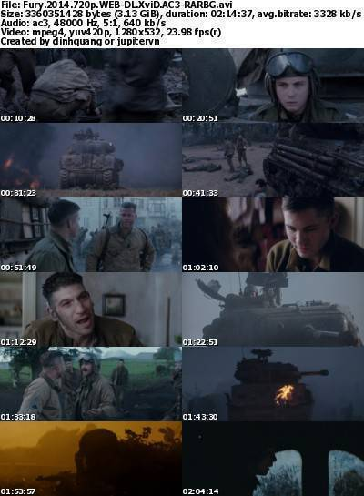 Fury (2014) 720p WEB-DL XviD AC3-RARBG
