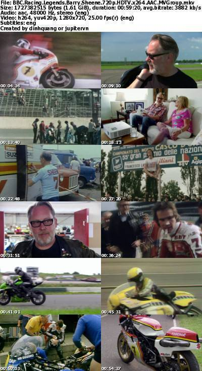 BBC - Racing Legends: Barry Sheene (2014) 720p HDTV x264 AAC-MVGroup