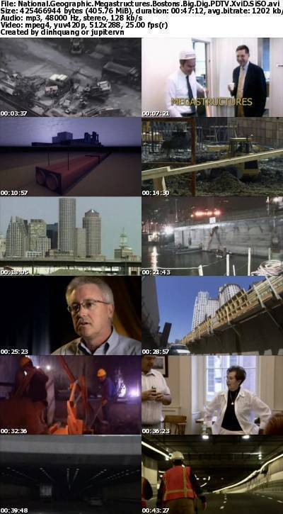 National Geographic - Megastructures: Bostons Big Dig (2005) PDTV XviD-SiSO