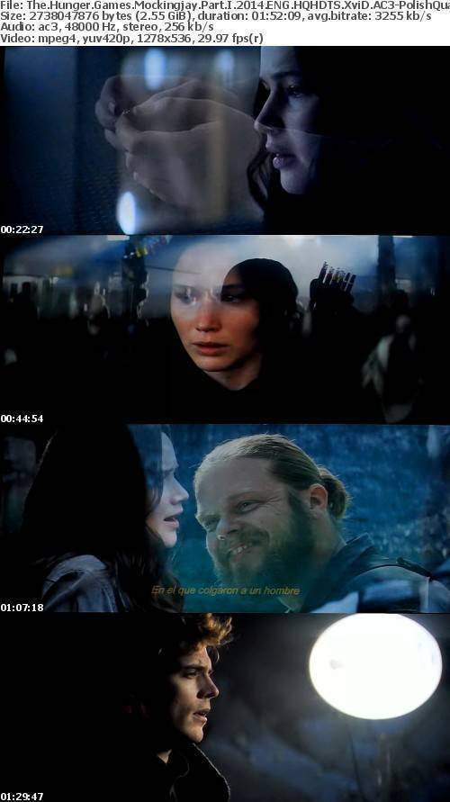 The Hunger Games Mockingjay Part I 2014 ENG HQHDTS XviD AC3-PolishQuality