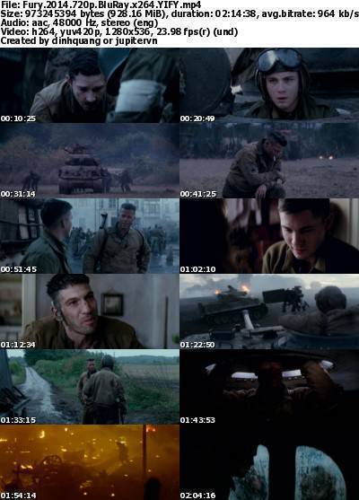 Fury (2014) 720p BluRay x264-YIFY