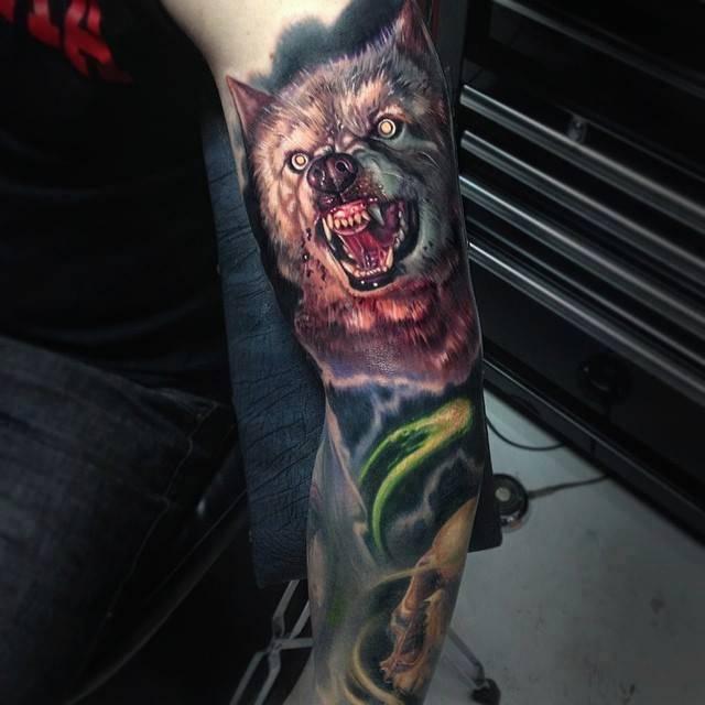 Świetne tatuaże #8 3