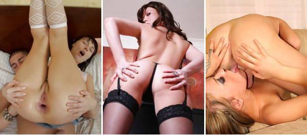 Lady les vidéos anaux du porno affecte le sexe anal