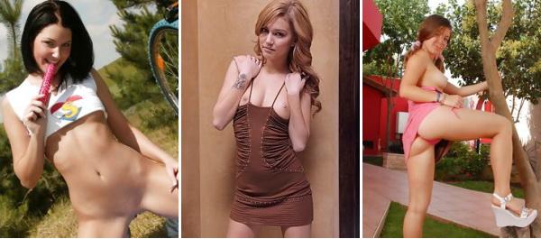 Markieren Sie den Nudisten (Sexuell rasputnyj der Teenagermoslem tricia jung gefüllt)!