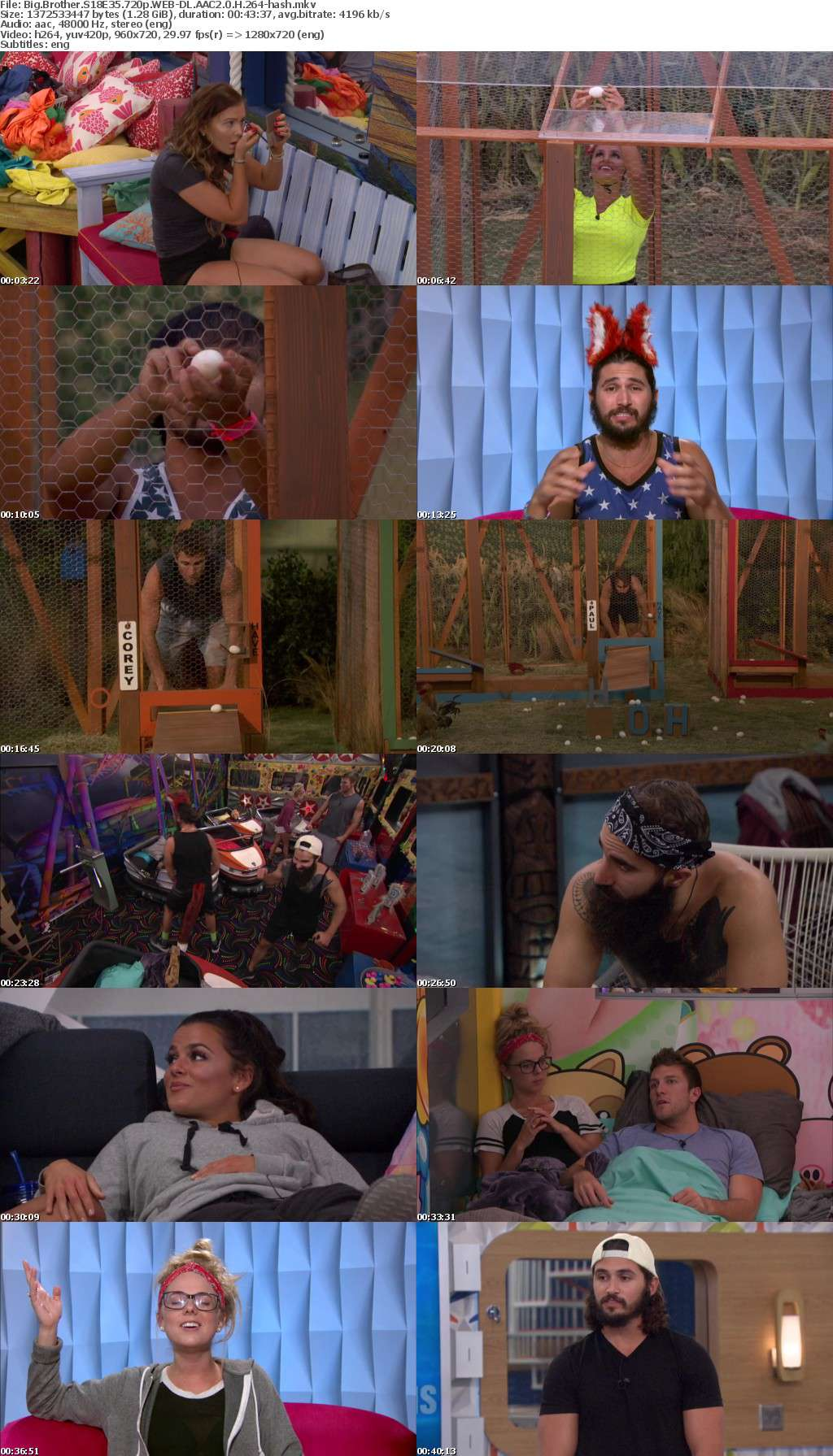 Big Brother S18E35 720p WEB-DL AAC2 0 H 264-hash