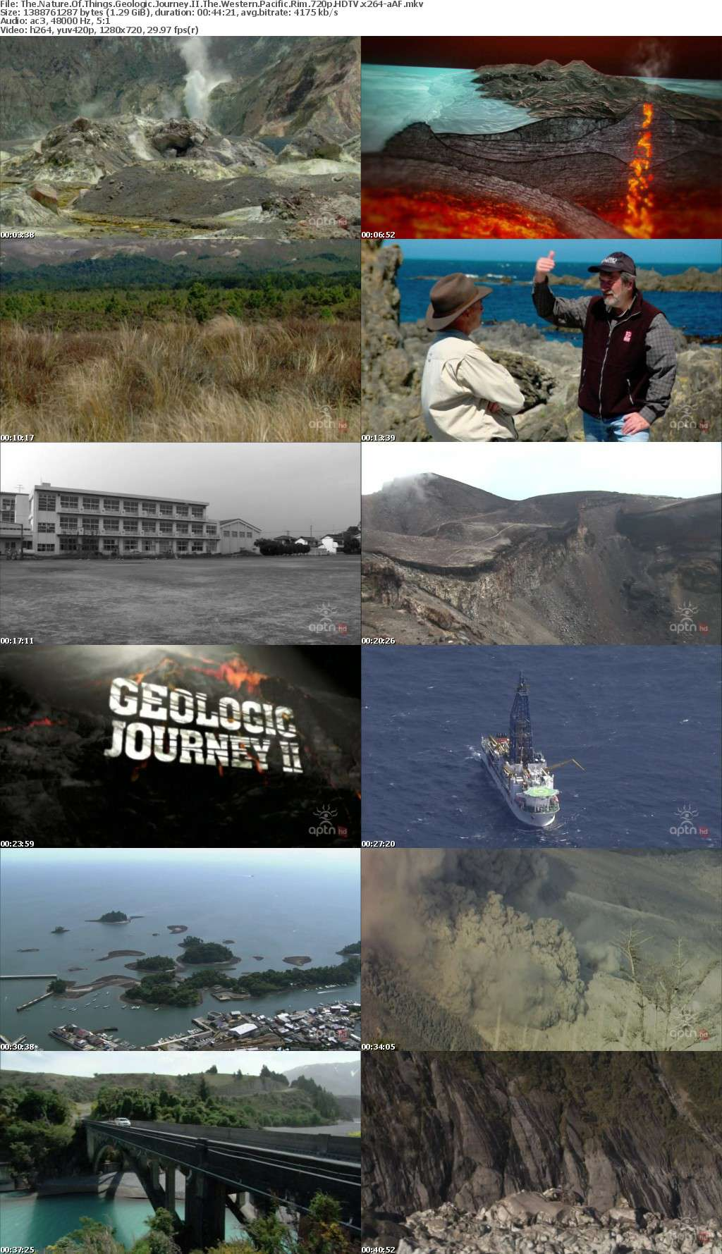 The Nature Of Things Geologic Journey II The Western Pacific Rim 720p HDTV x264-aAF