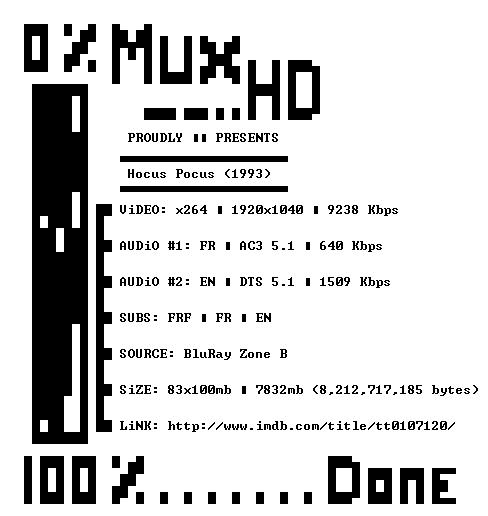 Hocus Pocus 1993 MULTi 1080p BluRay x264-MUxHD