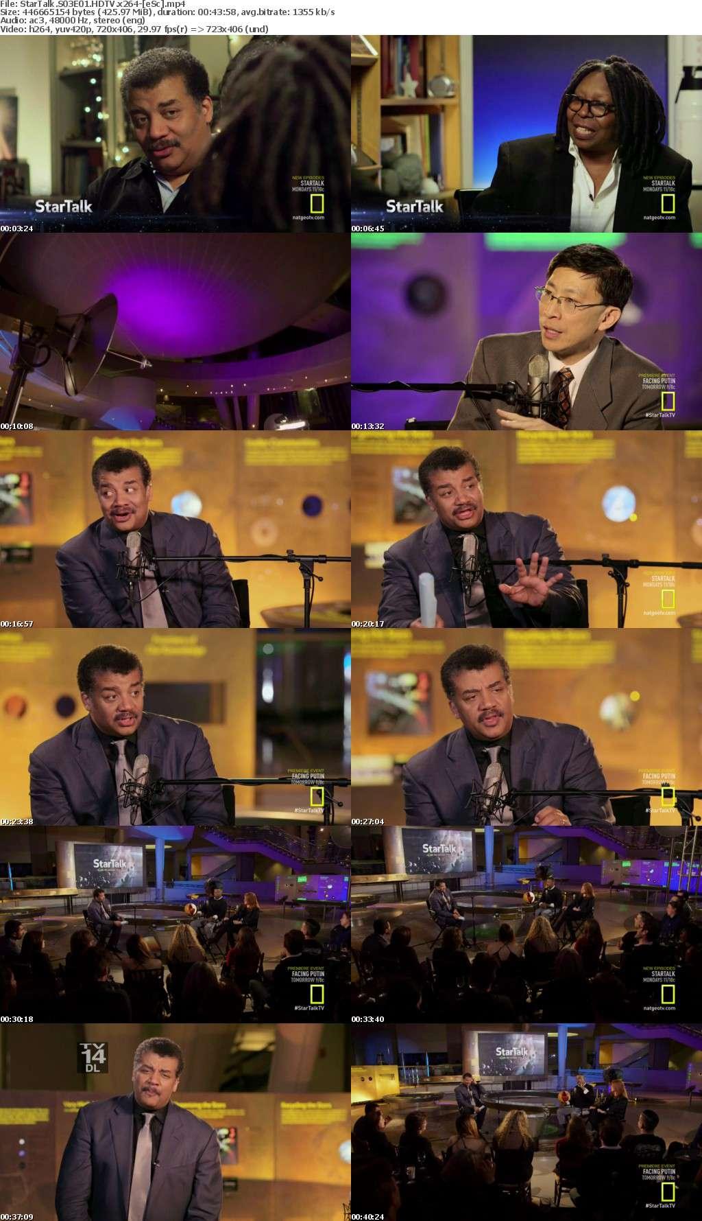 StarTalk S03E01 HDTV x264-[eSc]